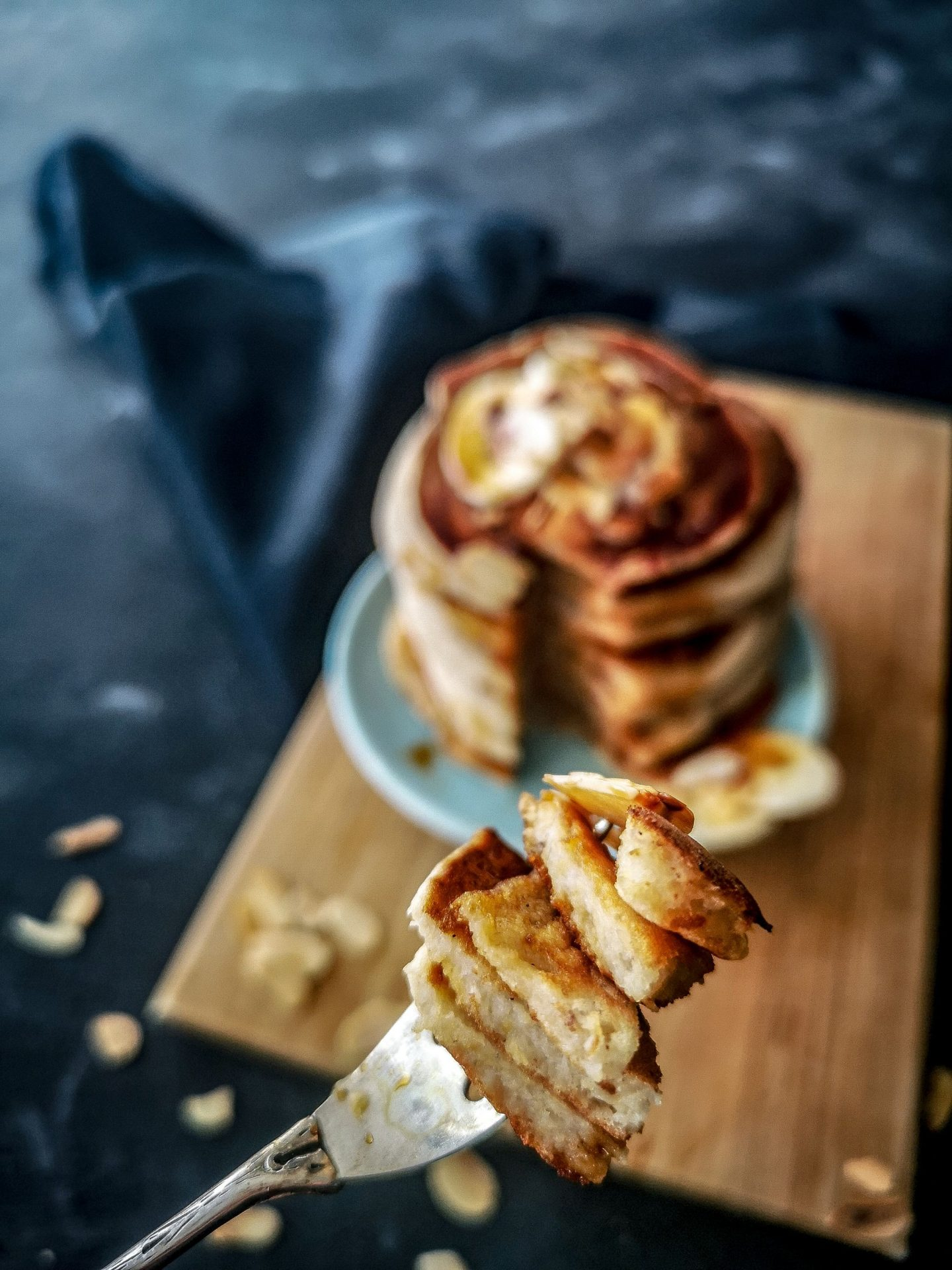 Bananen Low Carb Pancakes