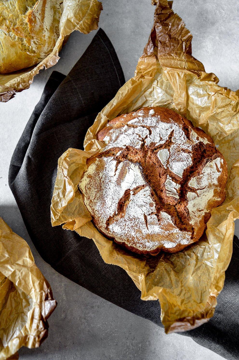 Brot , Kartoffelbrot