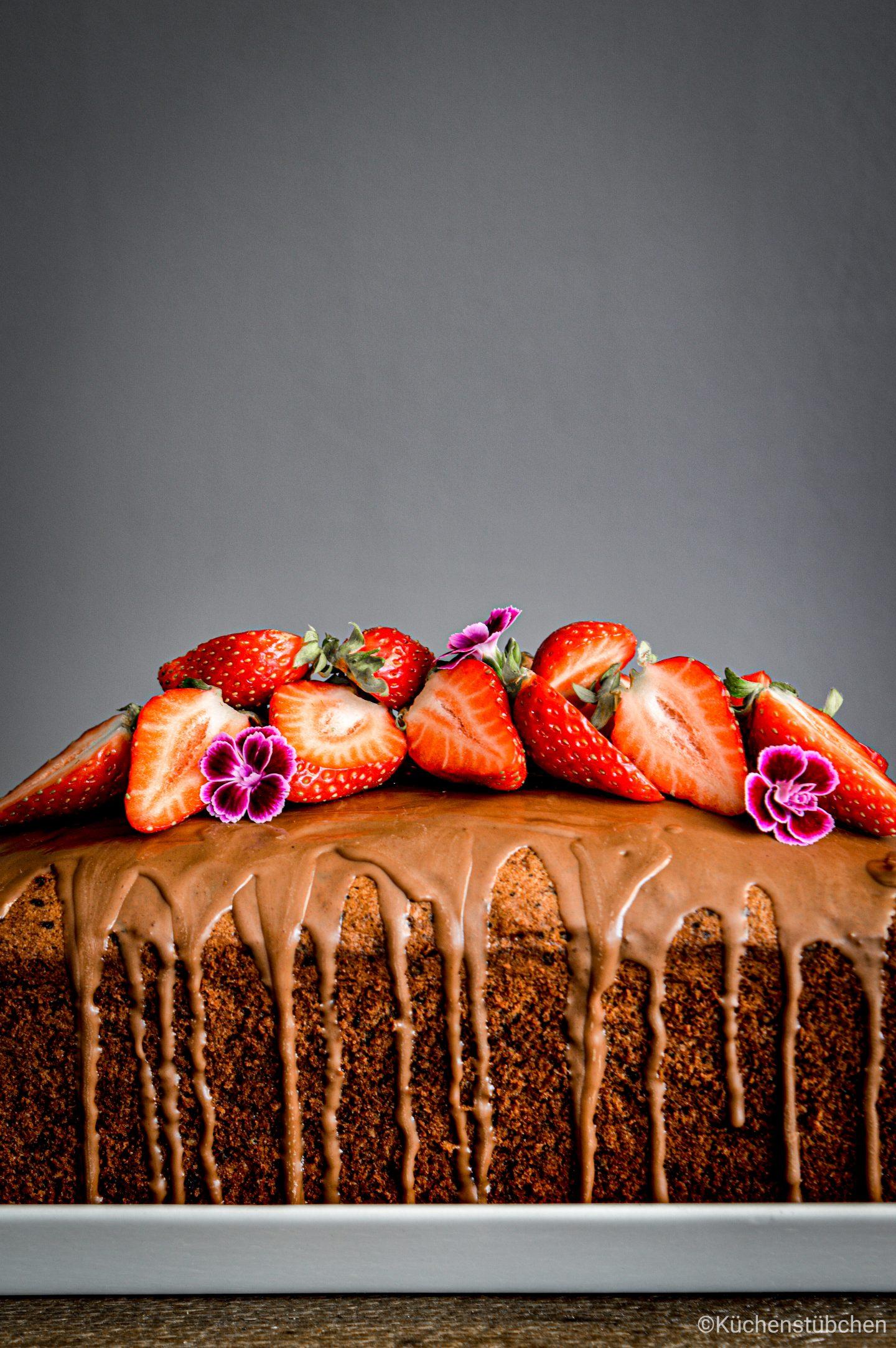 Einfacher Schockonuss Kuchen