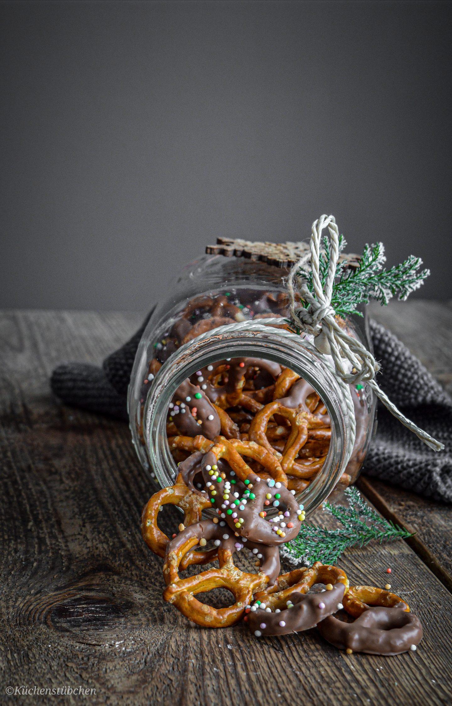 Feine Mitbringsel zur Weihnachtszeit - Salzbrezeln