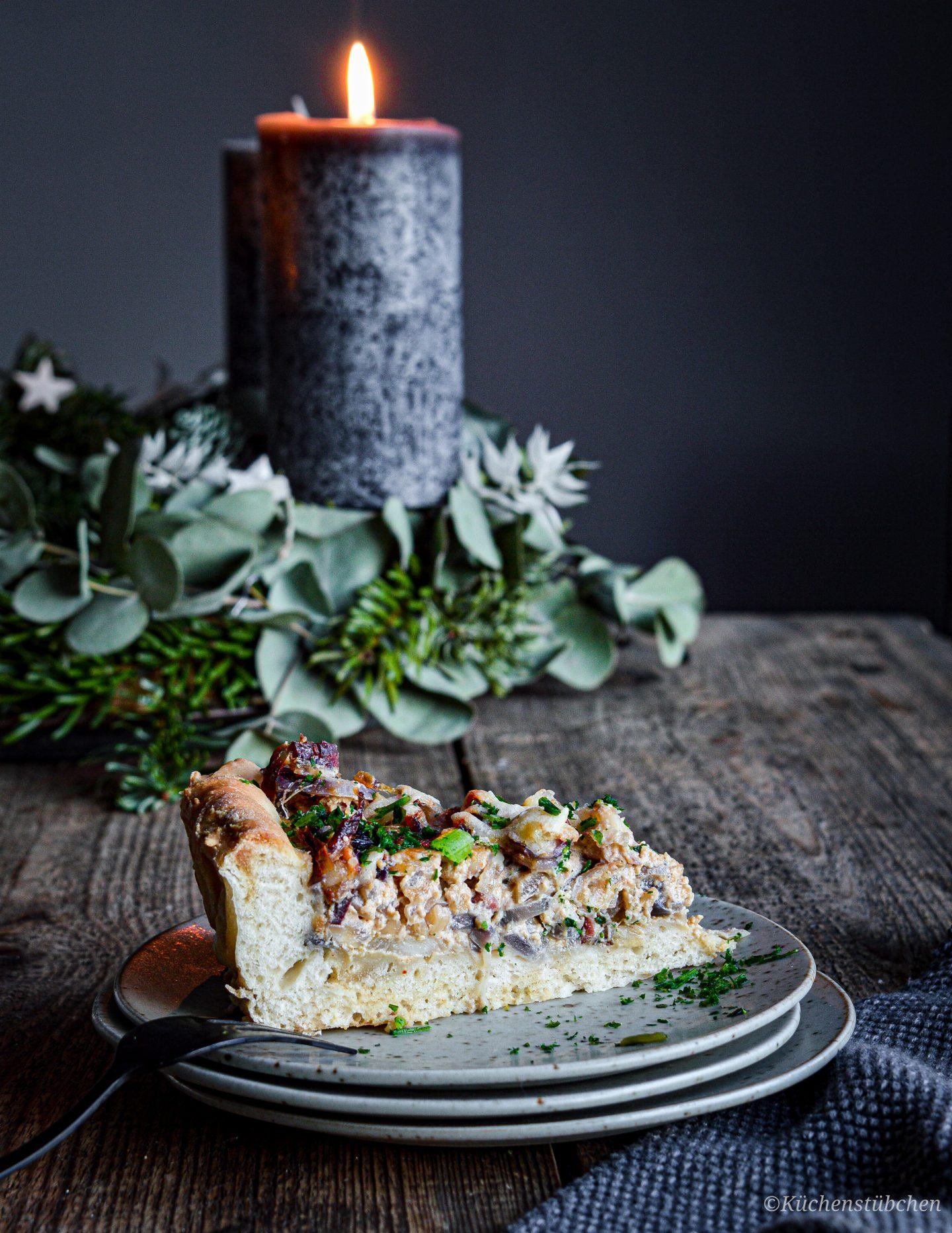 Laugen - Zwiebelkuchen