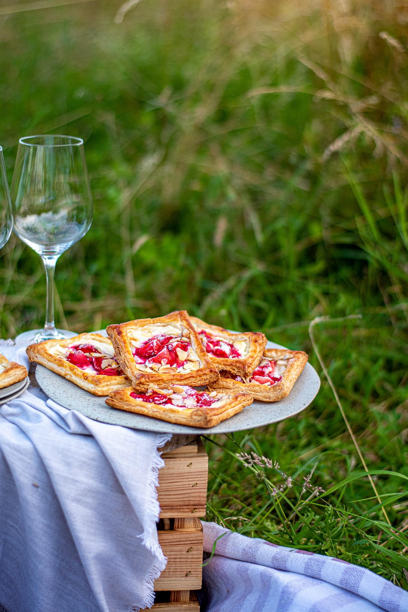 Erdbeer - Cheescake Tartletts